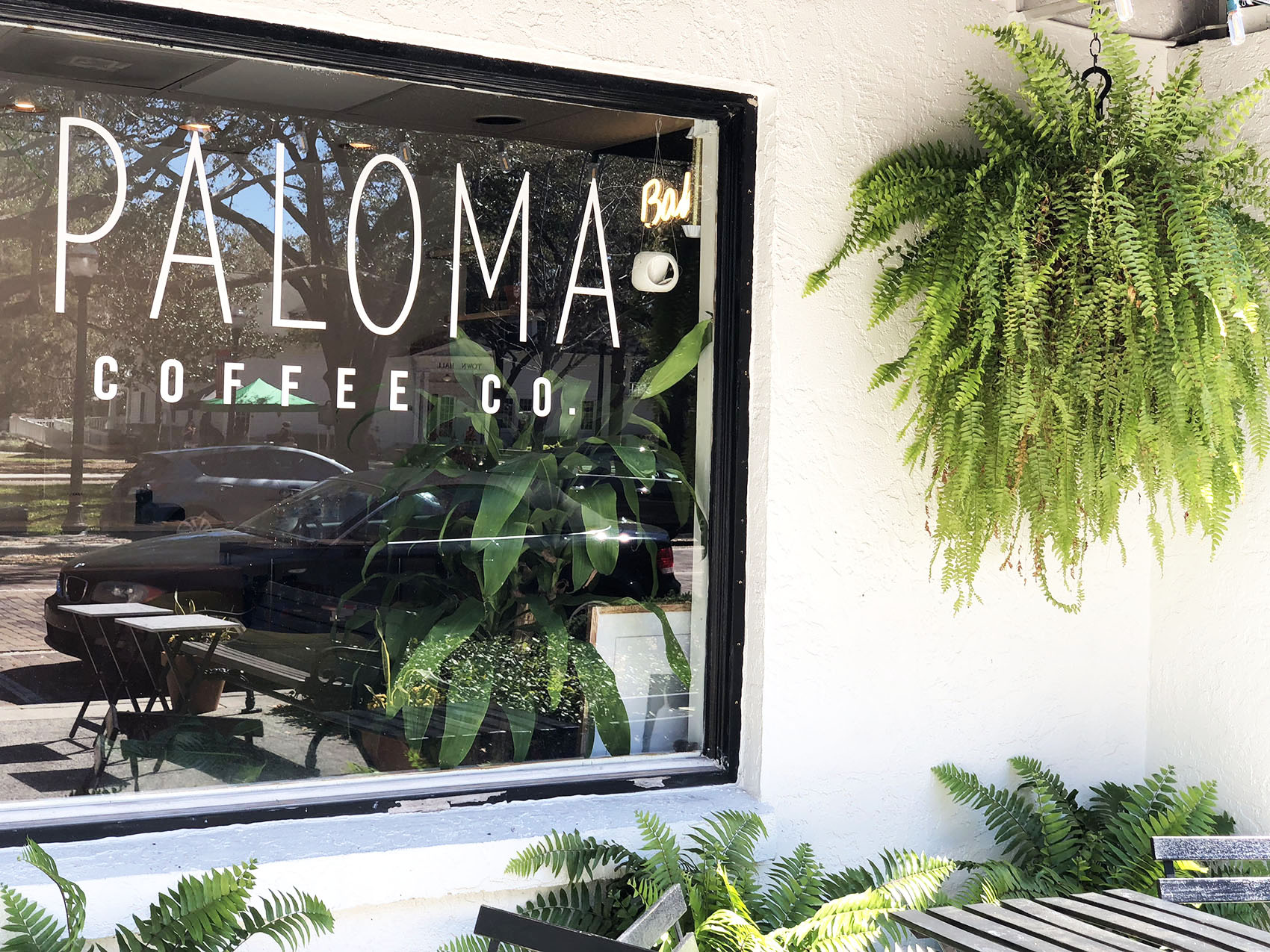 Paloma Coffee Co. Front
