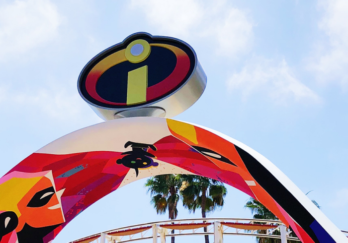 Incredicoaster at Pixar Pier